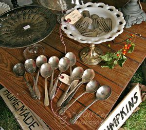 CL-stamped silverware-photo by Carla Schauer
