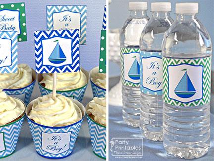 Sweet Sailboat Shower | Carla Schauer Designs