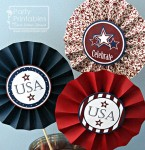 Free July 4th printable party decorations