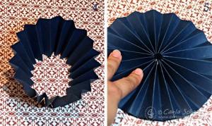 Printable paper medallion tutorial 2