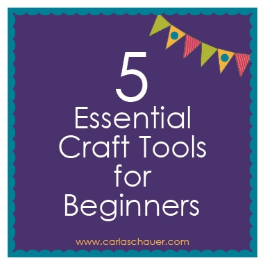 Craft Tools for Beginners
