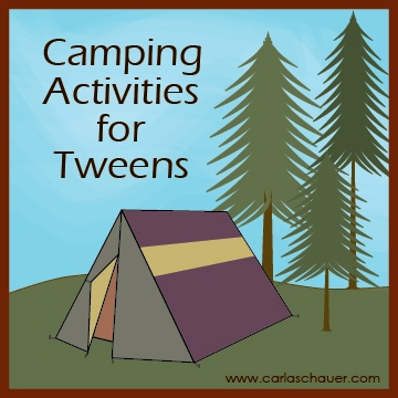Camping Activities for Tweens