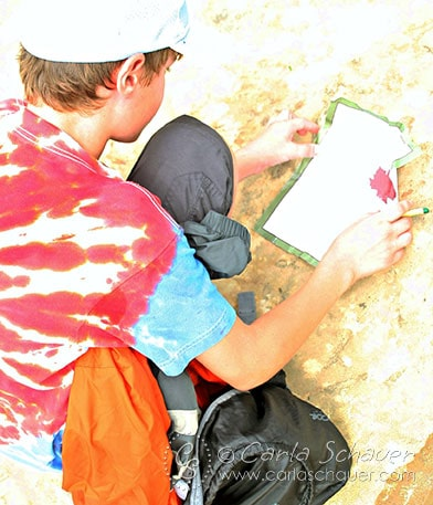 Scavenger Hunt for Hiking and Camping with Tweens