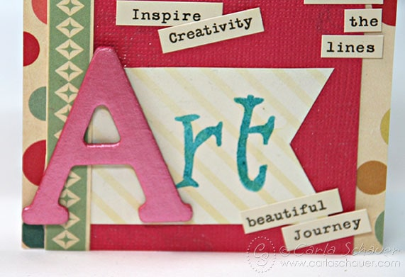 Art Inspiration Tag by Carla Schauer Designs