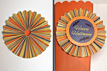 Halloween party medallions with free printable from Carla Schauer Designs