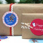 Free Printable Holiday GiftTags