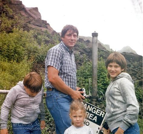 Family road trips make memories