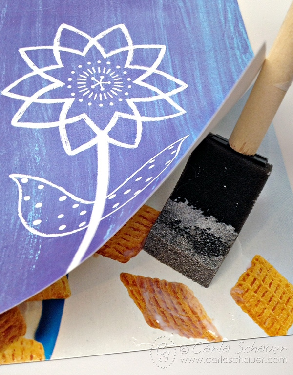 Make DIY lacing cards for kids using repurposed printables and recycled materials. Tutorial and free printable from Carla Schauer Designs.