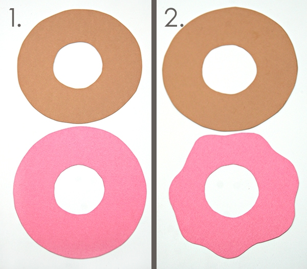 Donut Card tutorial from Carla Schauer Designs.