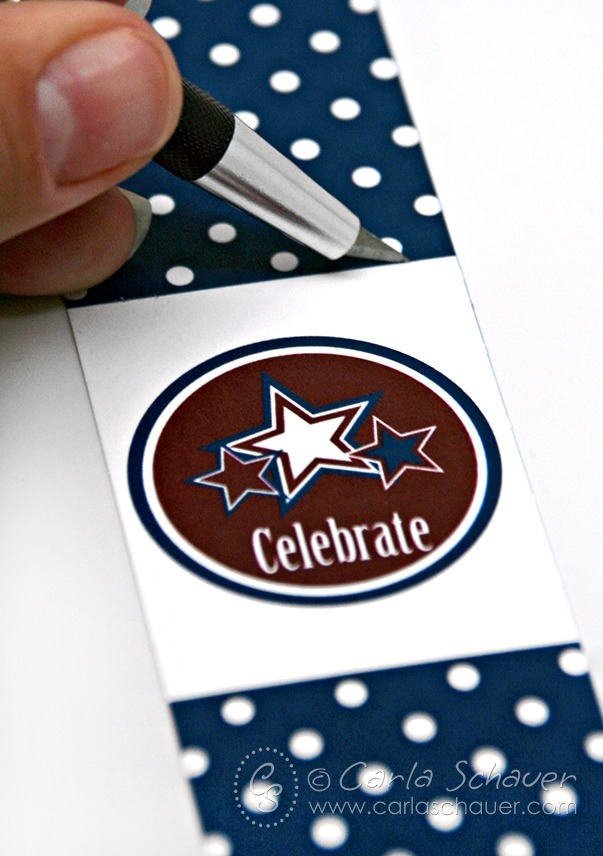 Print and Cut to make July 4th sparkler or glowstick holders. These free printables coordinate with another free patriotic project, and a full Stars & Stripes printable party!