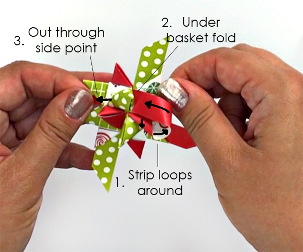 How to Fold German Star Dimensional Points |Carla Schauer Designs