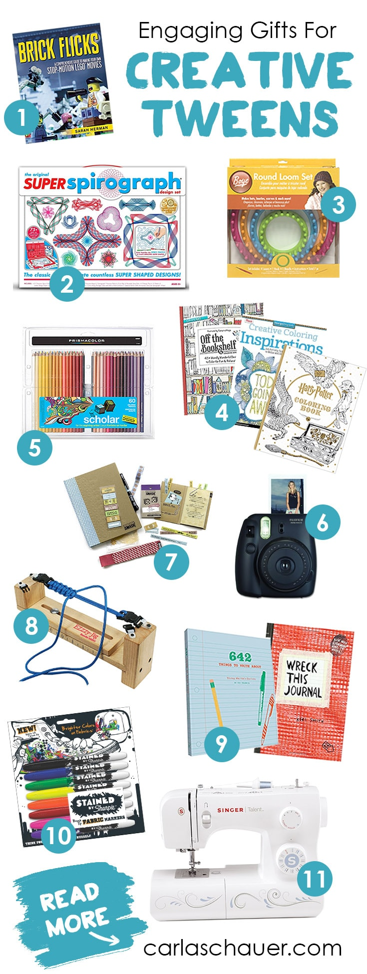 Toys For Creative Tweens : Find engaging gifts for creative tweens carla schauer