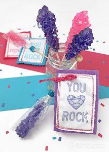 You Rock Printable Valentines
