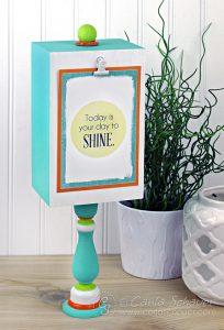 Make a Display Stand for Printables