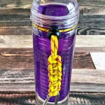 DIY Paracord Water Bottle Holders
