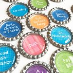 Make Family Chore Chart Magnets